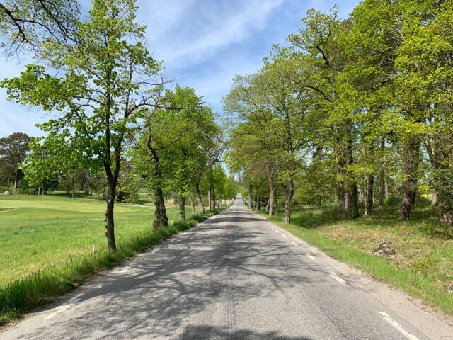 Cycling on Ekerö