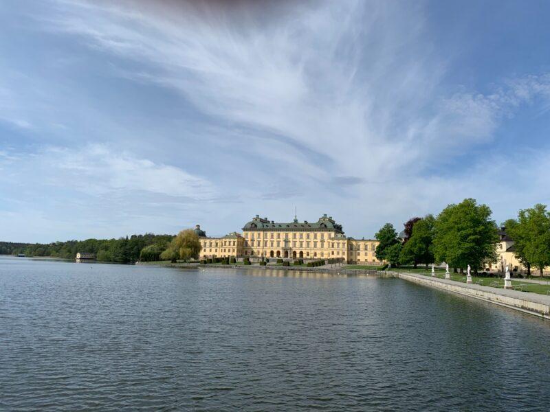 Drottningholms slott cykeltur