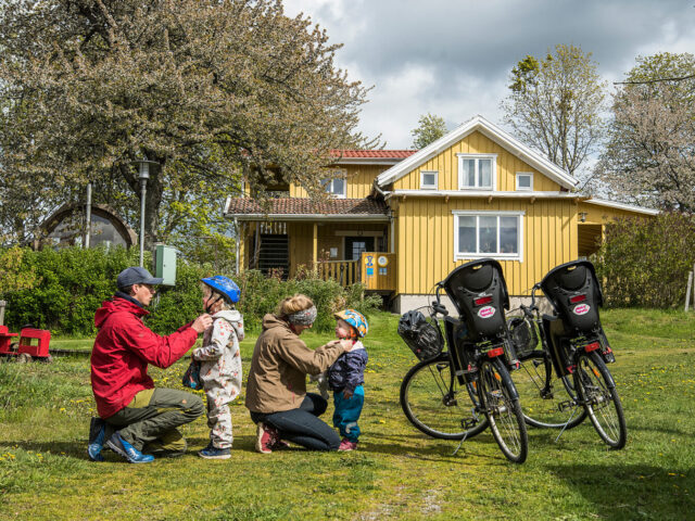 Lugnåsberget family package bicycle package