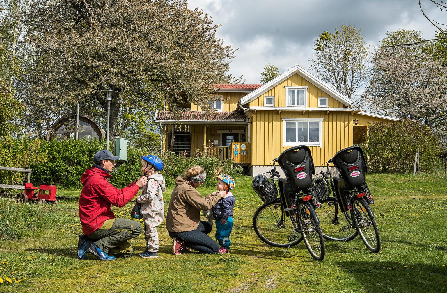 Lugnåsberget familjepaket cykelpaket