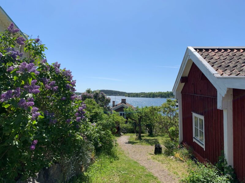 cycling in the Stockholm archipelago