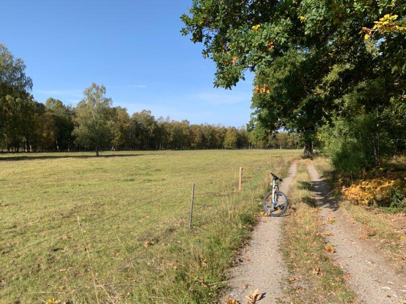 lantlig cykling ekerö