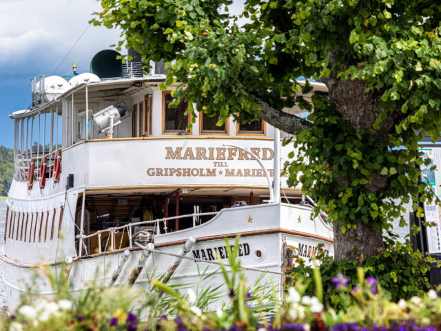 The steamship Mariefred at the steamboat pier_201907_FotoYAH