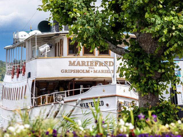 Ångfartyget Mariefred vid ångbåtsbryggan_201907_FotoYAH