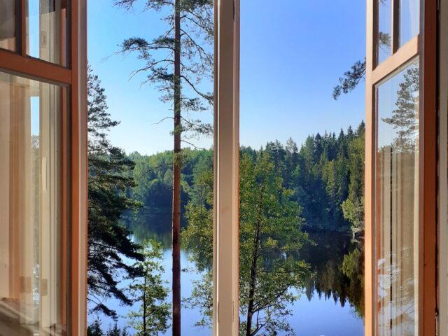 Utsikt Villa Gladtjärn2