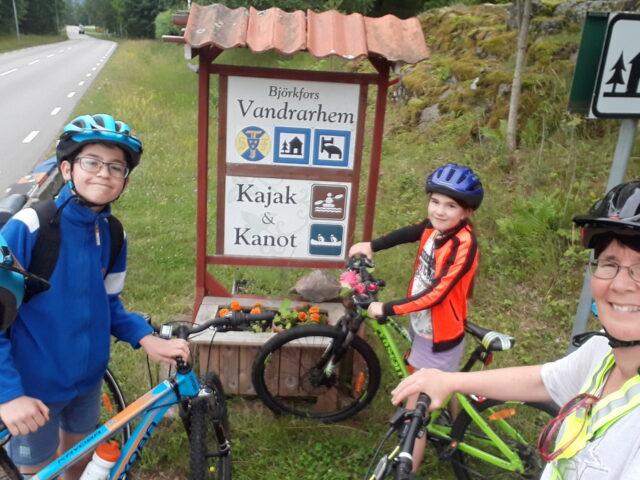 björkfors kajak östergötland cykelsemester2